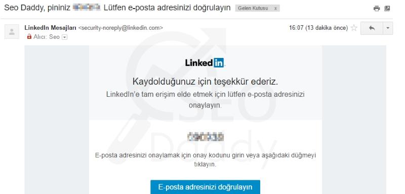 LinkedIn Profili Oluşturma 6